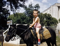 Barry On Pony 1956